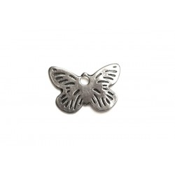 Sterling Silver 925 Butterfly Charm