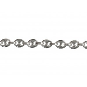 S925 ANCHOR / PUFFED GUCCI CHAIN 6.4 X 5.5 X 1.6MM