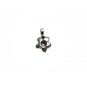 Sterling Silver 925 Daisy Charm