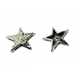 Sterling Silver 925 Large Star Pendant 15.45mm