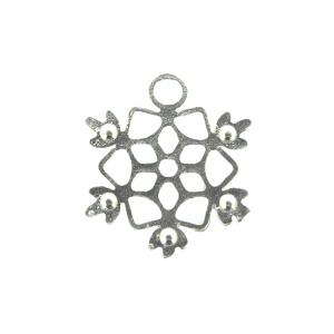 Sterling Silver 925 Snowflake Charm
