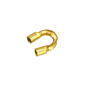14K Yellow Gold Wire Protector I/D 0.021'' / 0.53mm
