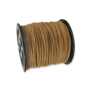 Ultra Micro Fiber Suede Light Brown 3mm