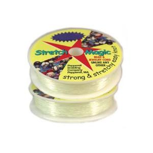STRETCH MAGIC Clear Elastic Cord 1.5mm 4 meters