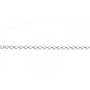 Sterling Silver 925 Rolo Belcher Chain, 2.3 mm (49)