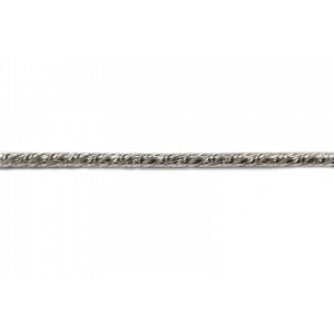 Sterling Silver 925 Rope Chain, 1.5 mm
