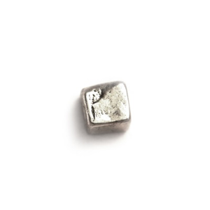 Sterling Silver 925 Square Bead 3.5mm