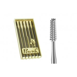 Busch Cone Square Cross Cut Burrs various sizes 0.60mm - 2.30mm