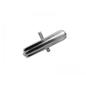 Sterling Silver 925 Cufflink finding Oval Bar Silver Cufflinks