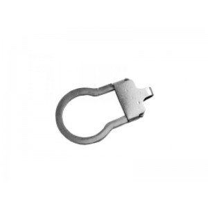 Sterling Silver 925 Key Hole Sprung Key Holder Silver Key Rings