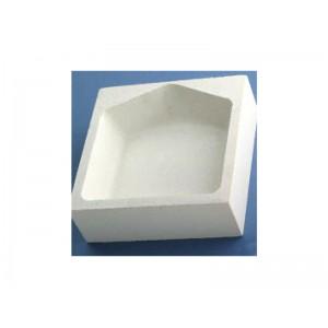Square Refractory Crucible, 12cm x 12cm x 40cm