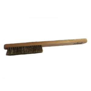 5-Row Brass Brush, Made in Italy