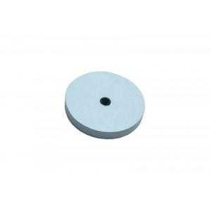 """Fine flat edge silicon carbide, 7/8"""", blue"""