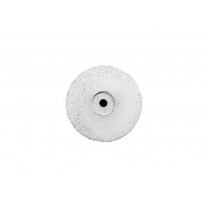 "Coarse Knife edge silicon carbide, 5/8"", white"