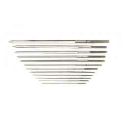 Set of 12 Steel Cutting Broaches
