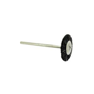 Extra Soft Bristle Wheel Brush 19mm on shank 2.34mm