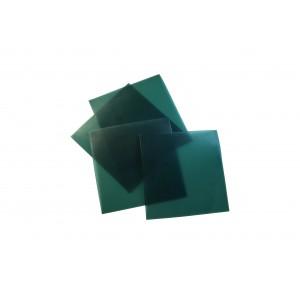 """SHEET WAX - FIRM/GREEN    4"""" X 4""""   GAUGE 22 (0.84mm)"""