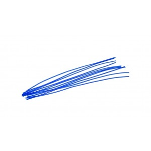 Blue Wax Round Wire 1mm