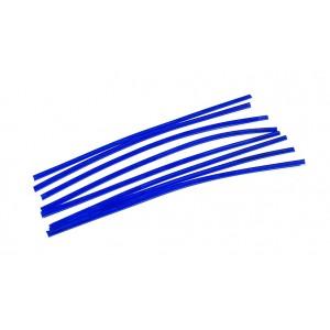 Blue Wax Flat Wire 1.25mm x 3.25mm