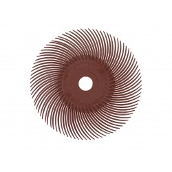 RADIAL BRISTLE DISC - RED