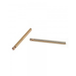 Gold Filled Plain Ear Post, 0.8mm thick, 13.8mm long