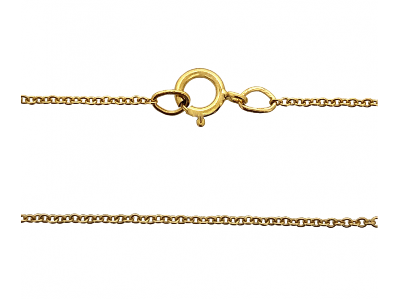 Ready Made Gold Filled Fine Trace Chain,18''