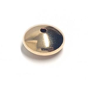 Gold Filled Saucer bead 7mm