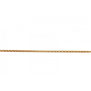 Gold Filled Red Fine Drawn Cable Chain, 2.2 x 1.2 mm links Gold Filled Cable Chain