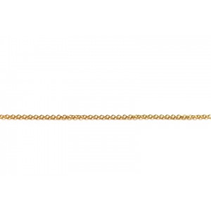 Gold Filled very Fine Trace Chain, 1.5 mm wide, 0.3 mm wire