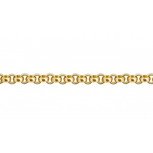 Gold Filled Rolo Belcher Chain 2mm