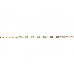 Gold Filled Oval Cable Chain, 1.5 x 3mm, wire 0.3mm