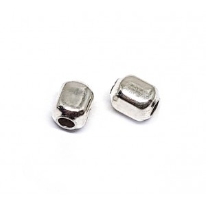 Sterling Silver 925 Square Bead 4mm