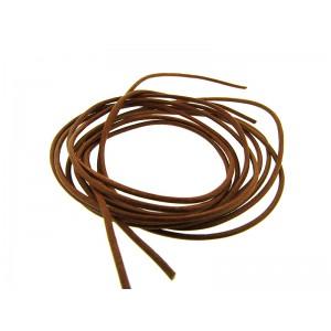 Pre-cut Leather Thong 1.6mm - 2.0mm x 100cm