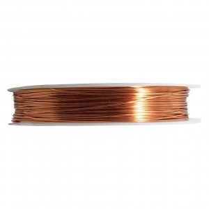 Artistic Wire, 18 Gauge (1.0 mm), Natural, 10 yd (9.1 m)