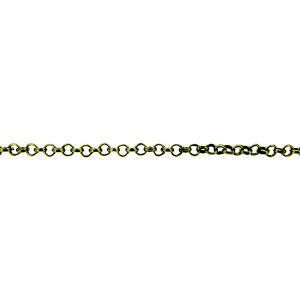 Brass Round Trace Chain 3mm + E Coating