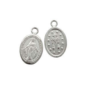 S925 OVAL LADY MARY PENDANT, WITH RING