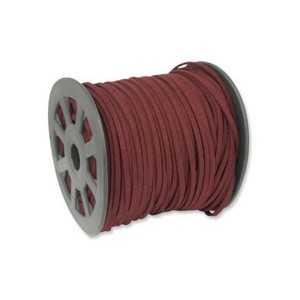 Ultra Micro Fiber Suede Burgundy 3mm