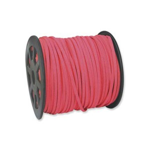 Ultra Micro Fiber Suede Hot Pink 3mm