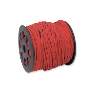 Ultra Micro Fiber Suede Red 3mm