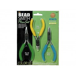 COLOR I.D. Plier Set 3 pcs The BEADSMITH