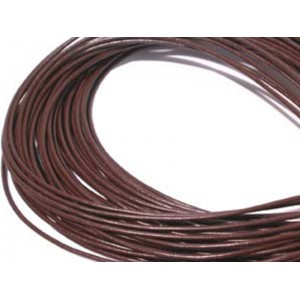 Leather Thong 2mm Brown