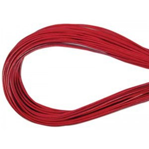 Leather Thong 1.5mm Dark Rose