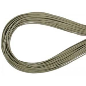 Leather Thong 1.5mm Khaki / Sage Green