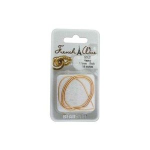 FRENCH WIRE GOLD HEAVY 1.1MM
