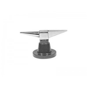 Double Horn Anvil with Round Base 2 3/4'' x 4 3/8''
