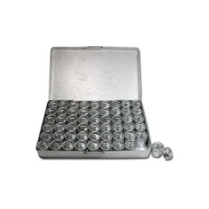 Aluminium Storage 11cm x 16cm with 54 boxes 16mm x 18mm