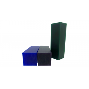 FERRIS WAX ASSORTMENT, GREEN, PURPLE & BLUE BARS