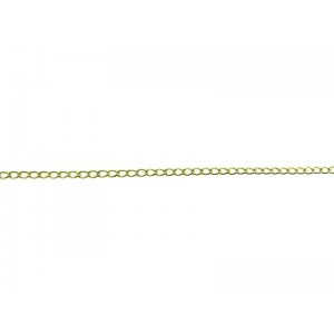 14K Gold Filled Round Curb Chain