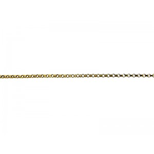 Gold Filled fine Round Rolo Chain 1.4mm
