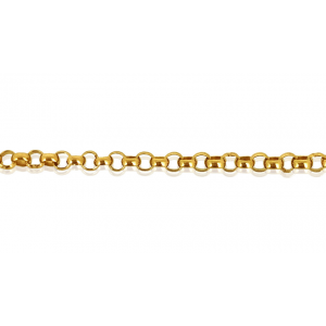 Gold Filled Rolo Belcher Chain, 5.0mm